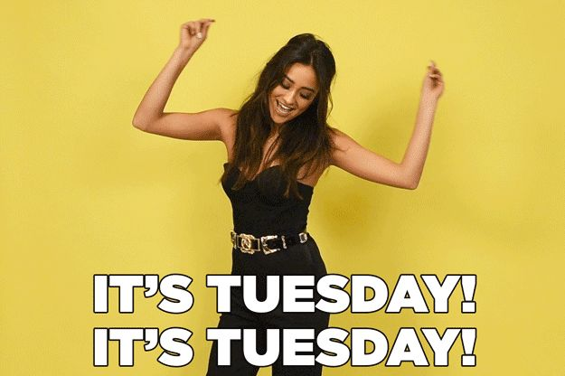 """When it's Tuesday and you realize a new episode of PLL comes on tonight. 