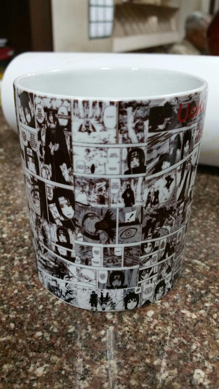 Uchiha collage mug