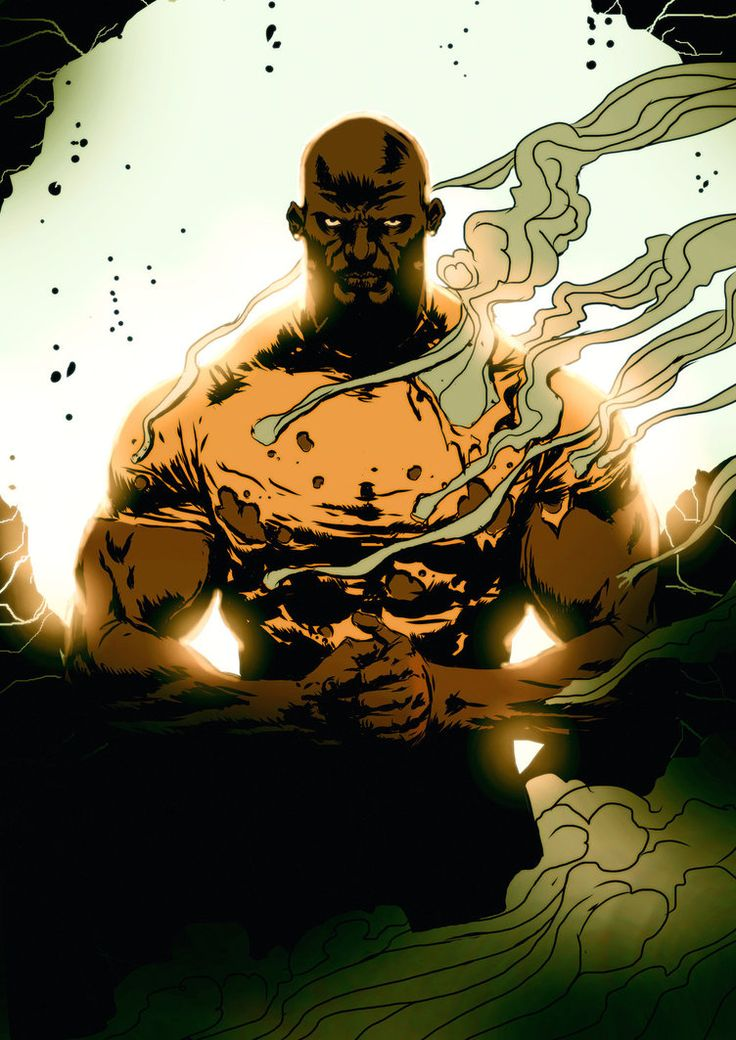 Men of Color In Fantasy Art — extraordinarycomics:   Luke Cage by Alexeuses.