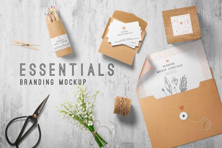Branding Mockup Essentials Vol. 7