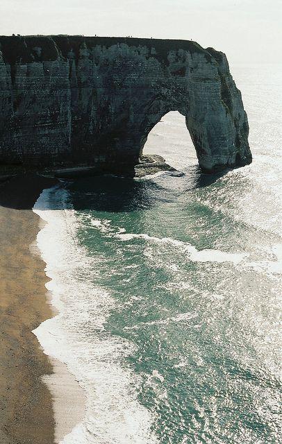 Stunning Cliffs of Etretat, France