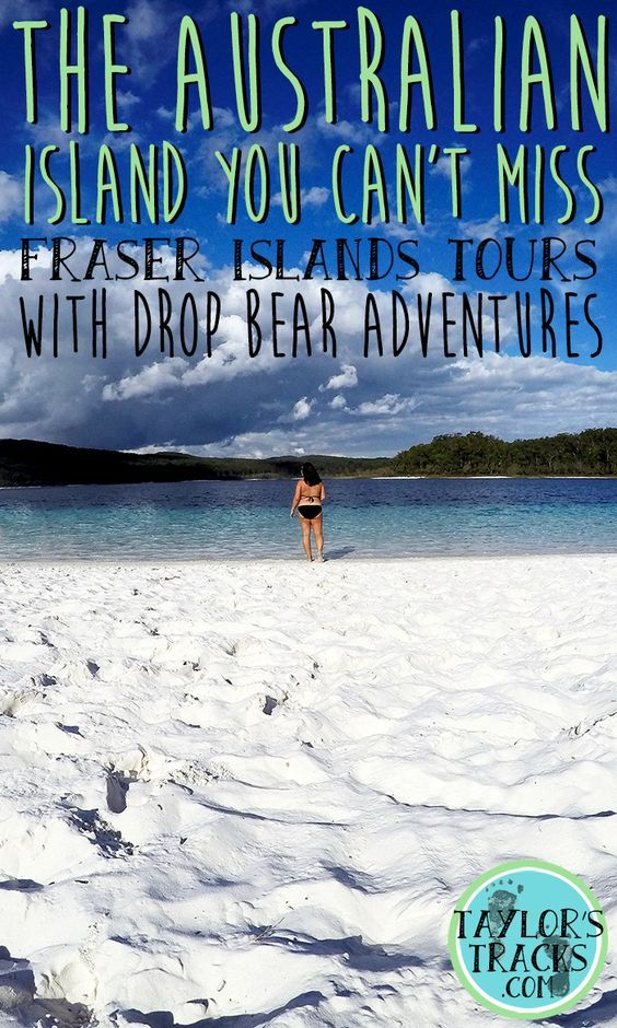 The Australian Island You Can't Miss: Fraser Island Tours with Drop Bear Adventures. Travel in Australia.