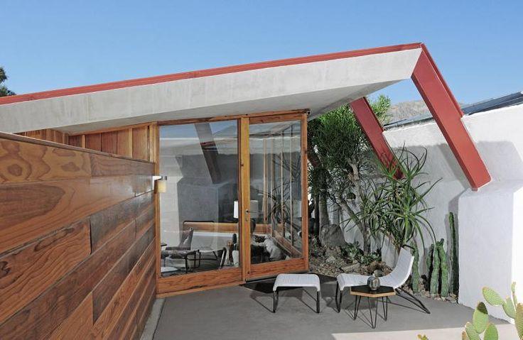 John Lautner designed hotel, Desert Hot Springs, CA. Palm Modernism: Quality Over Quantity - Desert Guide - May 2013 - Palm Springs, California