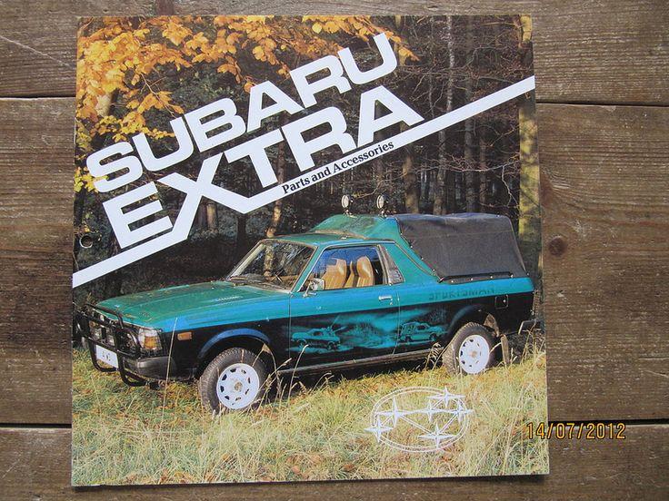 British Subaru MV1600 accessories brochure circa 1980 page 1 | by Sholing Uteman