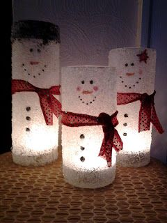 Wishing. and Hoping. and Thinking. and Praying.: Frosty Family Upcycle!