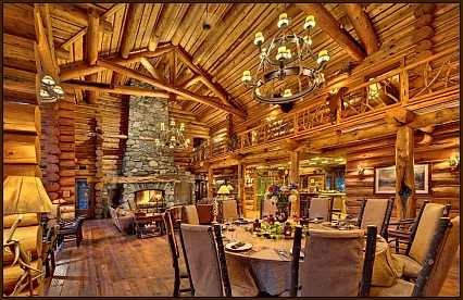 Log Cabins On Pinterest Beautiful Log Cabin Homes And Fireplaces