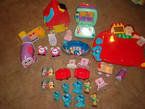 Blues Clues House Toy Very Nice Lot