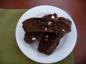 Clean Eating Machines: Clean eating chocolate biscotti