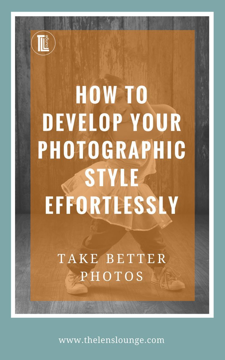 There is only one way to develop photographic style effortlessly. Here's how to find your style and have fun on the way. #phototips