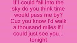 Vanessa Carlton-A Thousand Miles Lyrics - YouTube