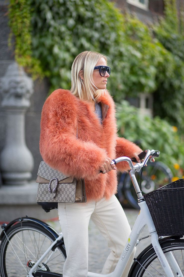 Girls And Bikes Copenhagen Street Style Kl Der Och Inspiration