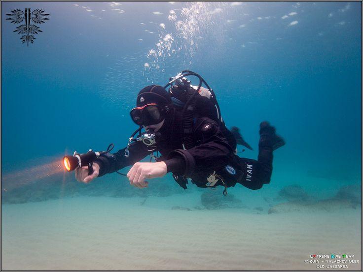 Дайвинг в Израиле — Средиземное море — Древняя Кейсария | 10.01.2014 | Diving in Israel (5)