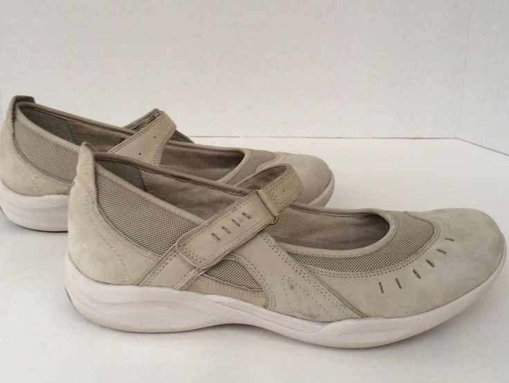 Pre Owned Women's Clarks Wave Size 11 Shoes Velcro Strap Mary Jane | eBay