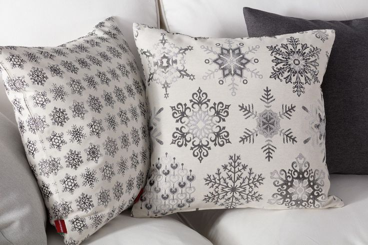 Beautiful Nordic style cushions for the winter season.