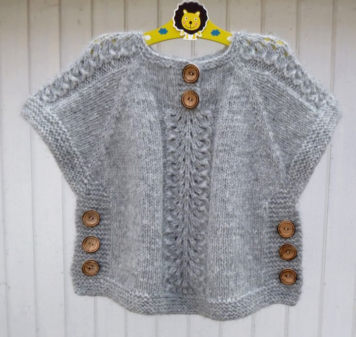 Ravelry: Ea's Poncho by Flora Design