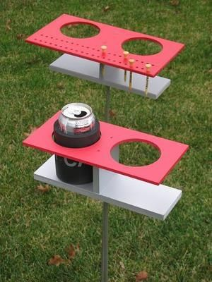 for the backyard for the boys an addition to the corn hole game