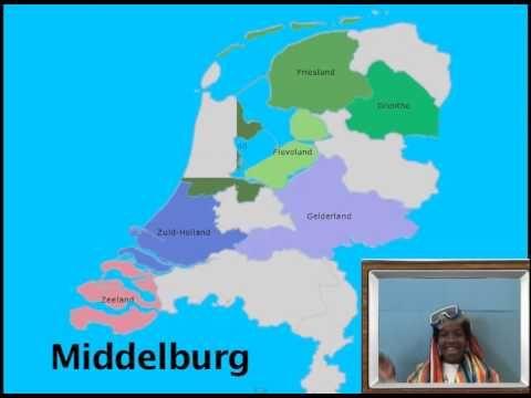 Provincielied - Nederland heeft 12 provincies - YouTube