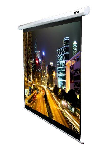 Elite Screens VMAX100XWV2-E24 VMAX2 Electric Projector Screen (100 inch Diagonal 4:3 Ratio 60Hx80W)(24 Drop) 4:3 Aspect Ratio; Diagonal Size: 100?; View Size 60?Hx80?W; Overall Size: 90?Hx93.1?W; Extra 24 Drop. MaxWhite 1.1 gain screen material with standard black backing eliminates light penetration. 4 side black borders enhance picture contrast and absorb light overshoot.. Includes 5-12 volt... #Elite_Screens #CE