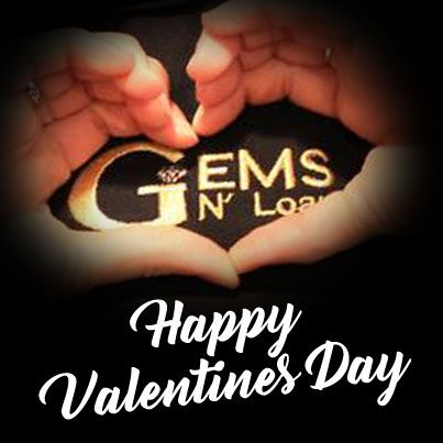Roses are red, Violets are blue, today's the day, we share our #love with you! Happy #ValentinesDay2017 from all of us at Gems N' Loans.