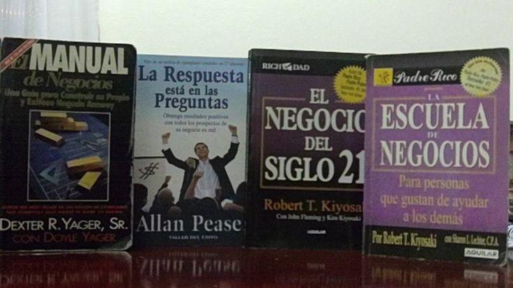 Agradezco a Dios y a la vida por dejar que llegaran a mi vida estos libros. GRACIAS  5 Vídeos GRATIS. Ingresa aquí--->http://negociodevanguardia.com/diegogiraldoonline