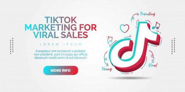 Tiktok Social Media Design Premium Vecto Premium Vector Freepik Vector Logo Banner Templates S In 2021 Social Media Design Media Design Social Media Buttons