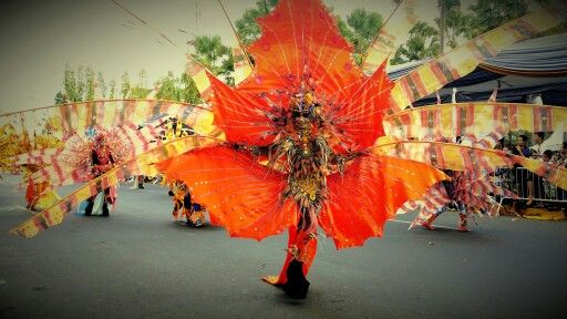 Jember Fashion Carnival 2015...Lion Fish Costume.