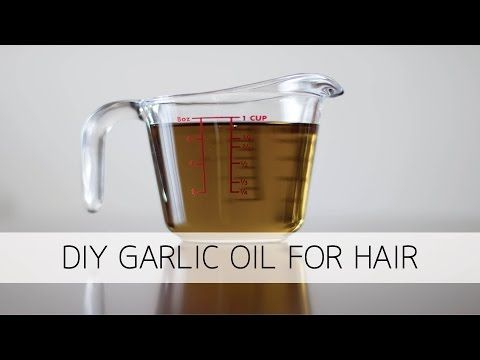 How to make and use garlic hair oil for natural hair |