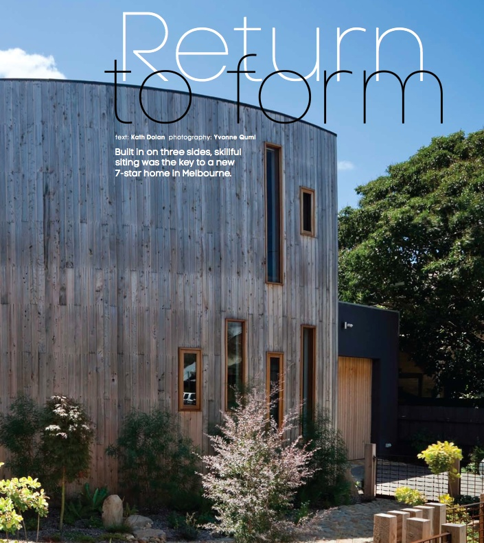 return to form - photography: Yvonne Qumi, architect: Andreas Sederof