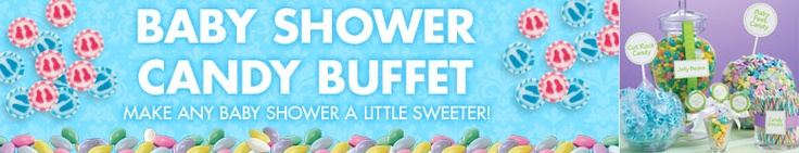 Baby Shower Candy Buffet - Party City