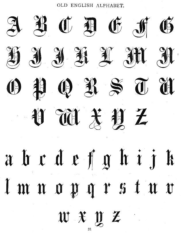 old english lettering 25 best ideas about fonts on 13941 | 51e8b165cb786e780f470faa8f975363
