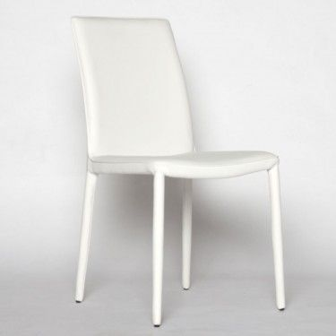 Modern Dining Chair - White