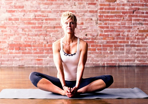 Cobbler's Pose by Yoga For Athletes, via Flickr