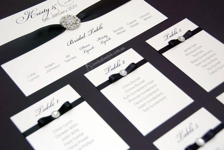 Wedding Seating Plan/Chart/Arrangement - UNASSEMBLED, individual cards for your frame or mirror - CUSTOMISABLE by InvitedinStyle on Etsy