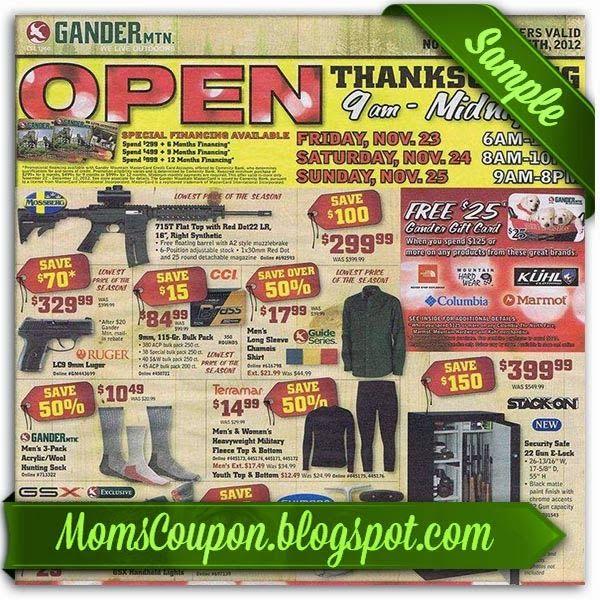 Gander mountain coupon gun