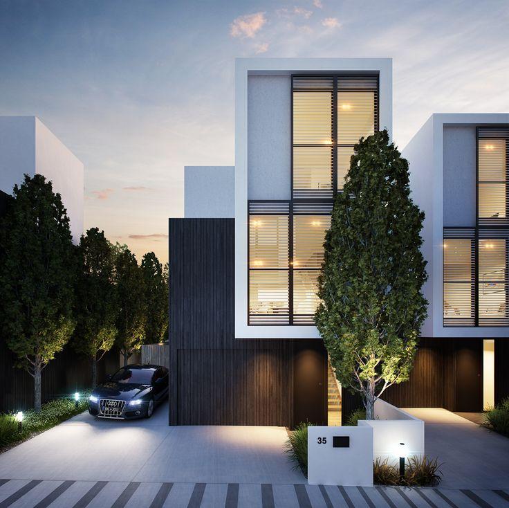 Best 25 Ultra Modern Homes Ideas On Pinterest: 25+ Best Ideas About Modern Townhouse On Pinterest
