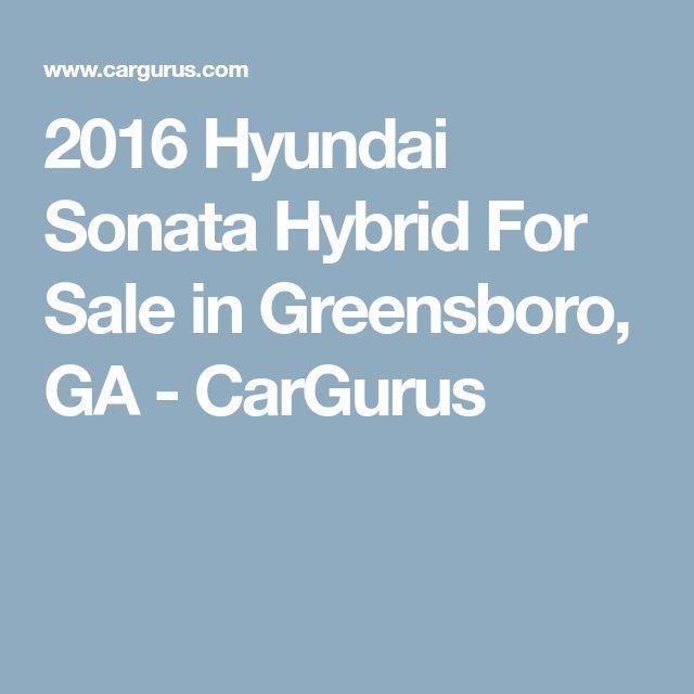 2016 Hyundai Sonata Hybrid For Sale in Greensboro, GA - CarGurus