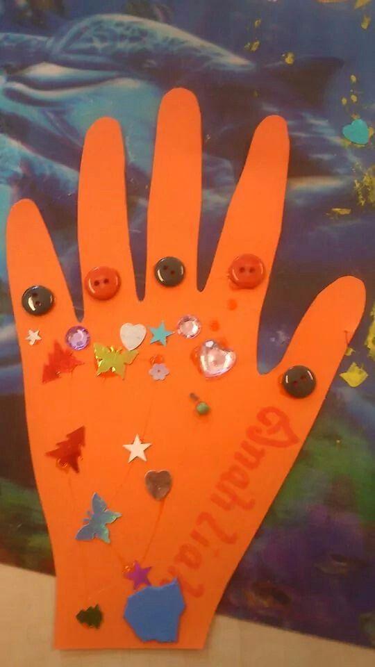 Marokaans versierde handen