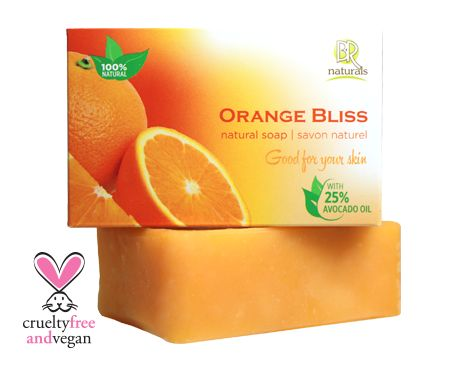 ORANGE BLISS SOAP BAR  Lift your morning routine with it's sweet, fresh, fruity scent. This bar will help with problem, dull or oily complexions, all the while leaving you feeling clean and refreshed. Orange Bliss is just that - bliss!