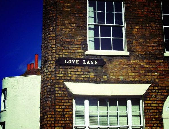 Love lane. Margate (England). #travel