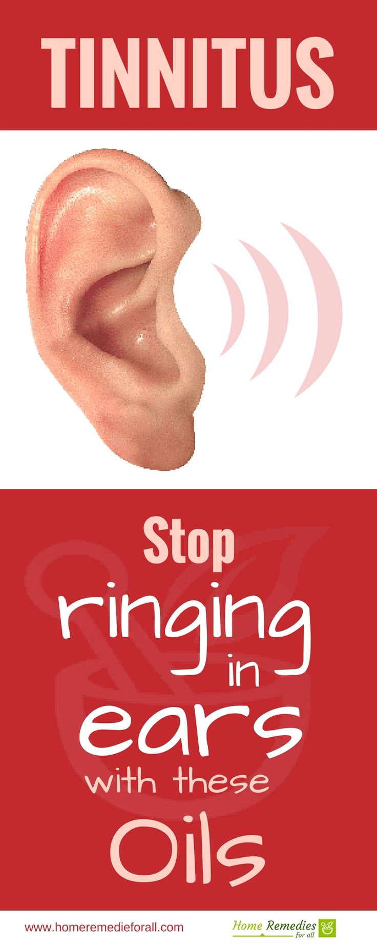 Stop ringing in your ears with essential oils. Best home remedies for Tinnitus.