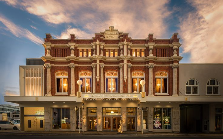 Christchurch Isaac Theatre Royal   Architectural Photography   Nico Babot