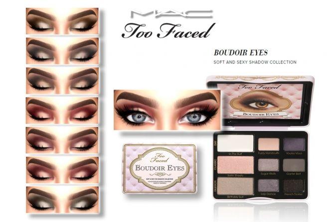 Boudoir Eyes at MAC Cosimetics • Sims 4 Updates