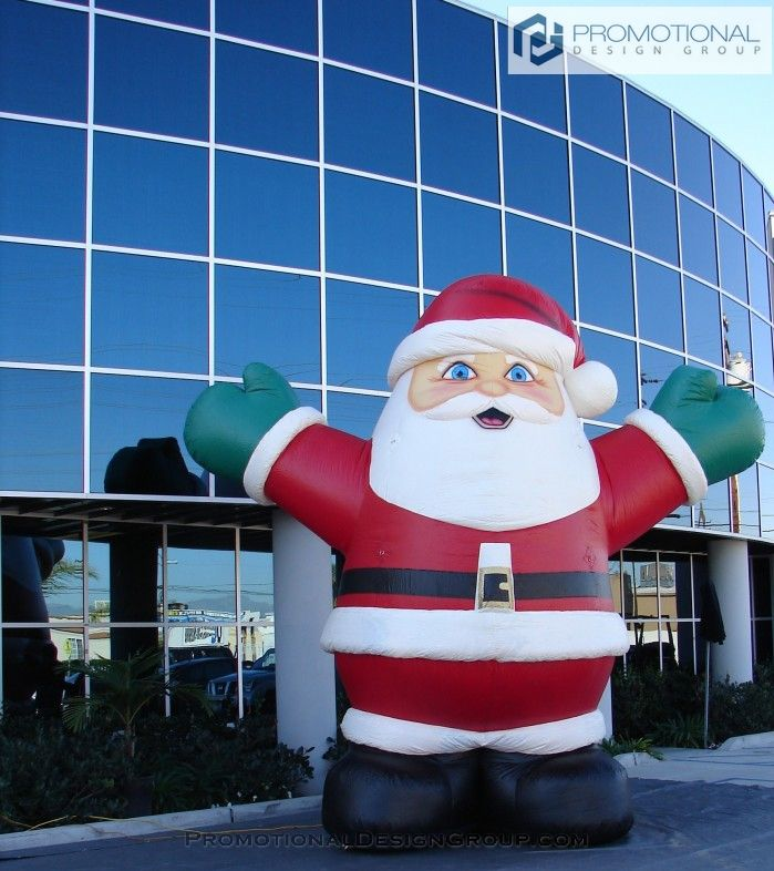 Inflatable Santa 40 best Christmas Inflatables images