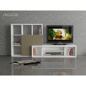 Televizní stěna Debi, cappucino