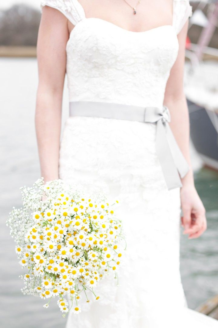 Amanda and Dominic's Daisies and Daffodils Spring DIY Wedding. By Camilla Arnhold