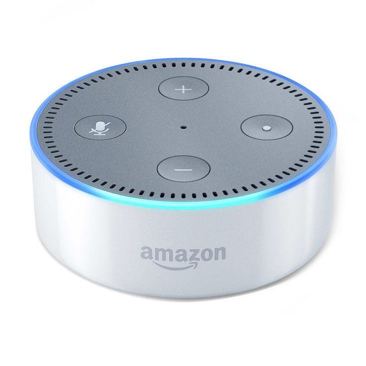 Amazon Echo Dot (2nd Generation) Alexa-enabled Bluetooth Speaker – White
