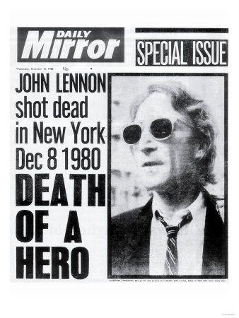 Death of a Hero, John Lennon Shot Dead in New York Dec 8 1980