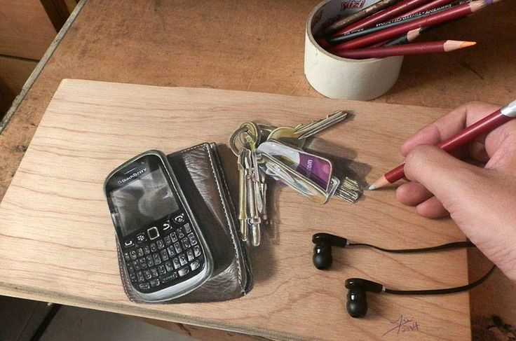 Keys and mobile phone