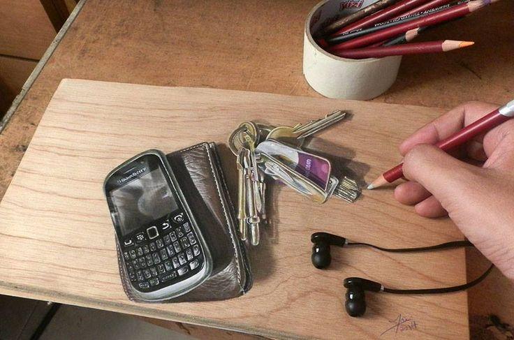 Keys and mobile phone