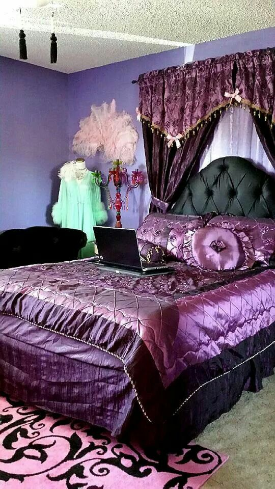 329 Best Images About Purple Green Bedroom On Pinterest